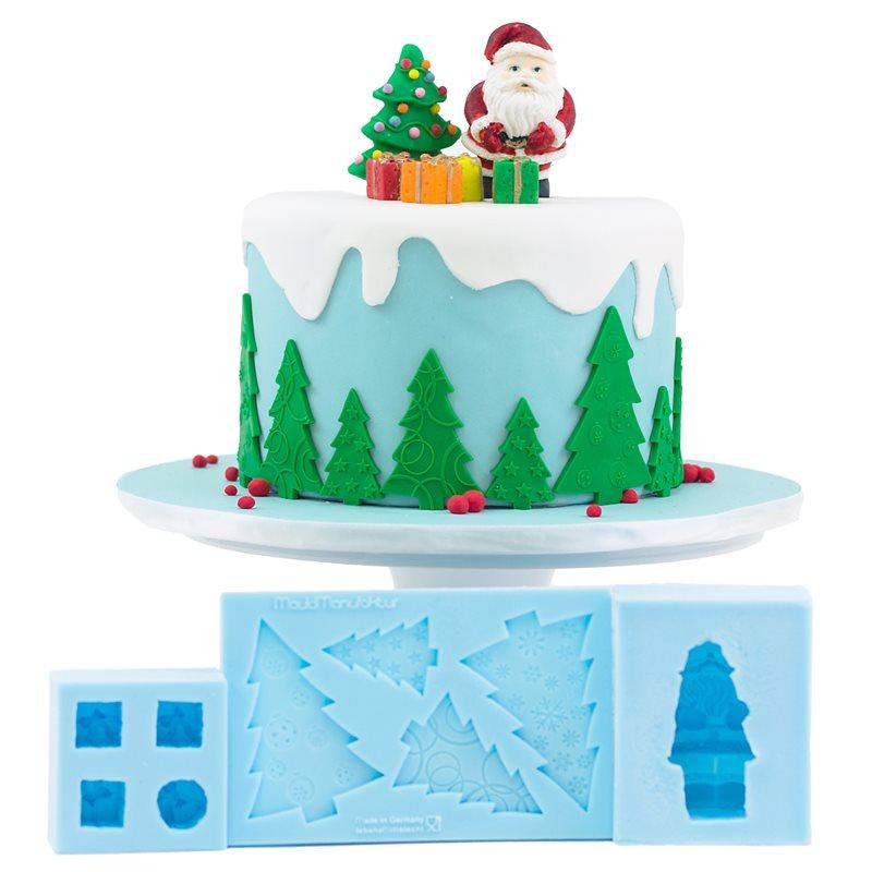 Christmas Fondant & Gumpaste Molds