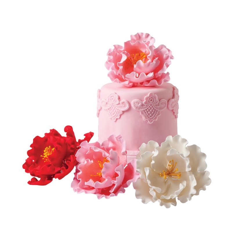 Gumpaste Flowers For Wedding Cakes: Gum Paste Flowers & Decorations - NY Cake