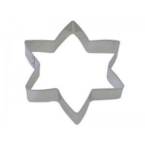 Star of David Cookie Cutter 5 Inch