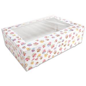 Cupcake Design Cupcake Box Holds 12 Standard Cupcakes