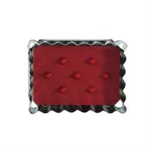 Rectangle Linzer Cookie Cutter