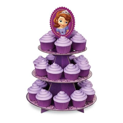 Sofia the First Cupcake Stand By Wilton
