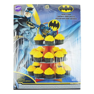 Batman Cupcake Stand By Wilton