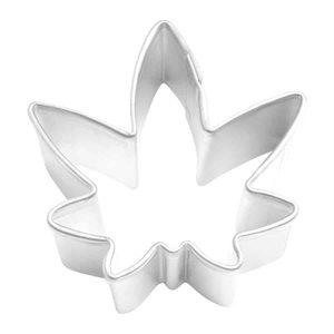 Mini Marijuana Leaf Cookie Cutter