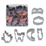 Mini Halloween Cookie Cutter Set of 6