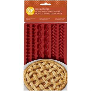 Silicone Pie Crust Mold - 6 Cavity