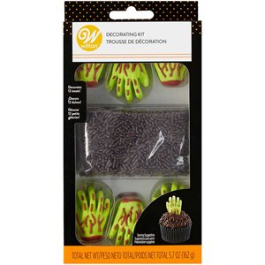 Zombie Hand Candy Decorating Kit