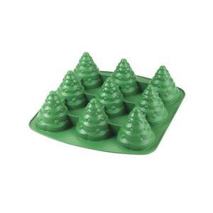 Mini Tree 3D Silicone Mold 9 Cavities