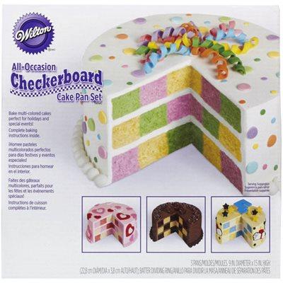 Checkerboard Cake Pan By Wilton