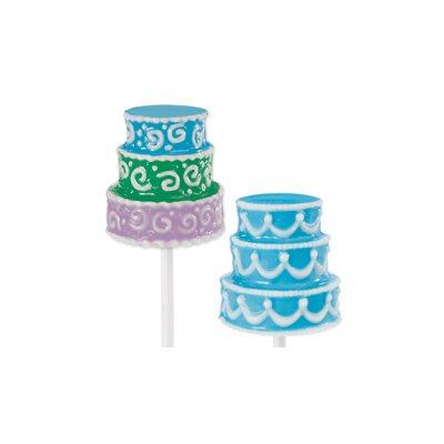 3D Wedding Cake Chocolate Lollipop Candy Mold