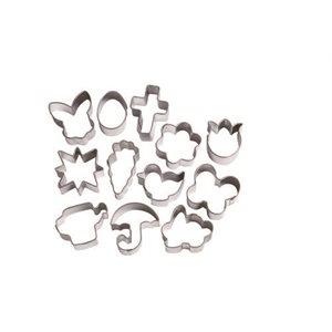Easter Mini Metal Cutters 12 pcs By Wilton