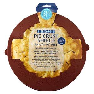 Pie Crust Shield Silicone