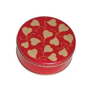 Sweetheart Cookie Tin 6 Inch