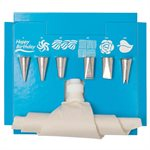 8 Piece Cake Decorating Tube Set by Ateco