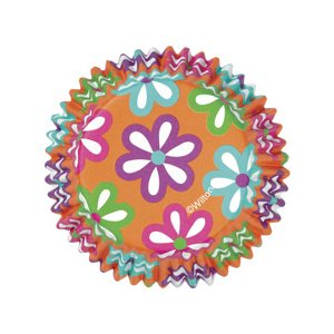 Flowers ColorCup Baking Cups 36pcs