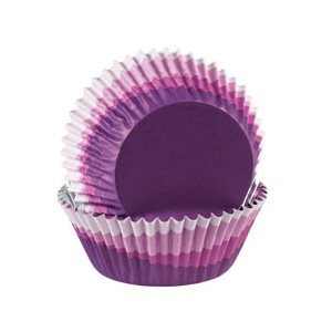 Ombre Purple Color Cup Baking Cups 36pcs