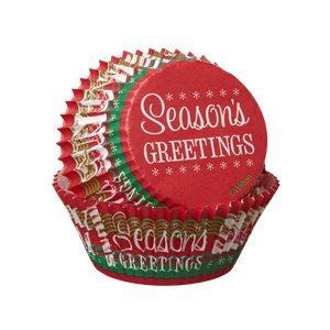 Seasons Greetings Standard Muffin Liner