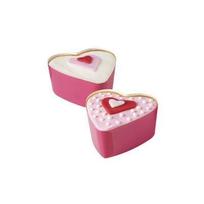 3 inch Heart Disposable Bakeware