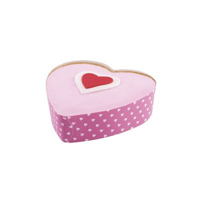 5 inch Heart Disposable Bakeware