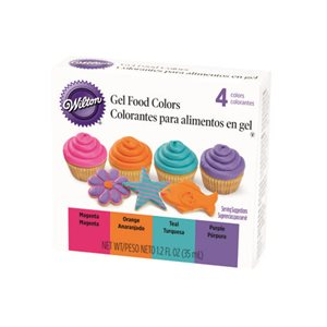 Bright Gel Food Color Kit By Wilton