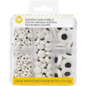 ASSORTED CANDY EYEBALLS TACKLE BOX