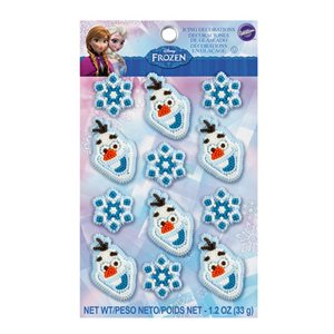 Disney Frozen Icing Decorations By Wilton