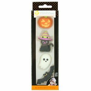 Halloween Royal Icing Decorations - 4ct