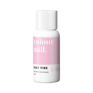 Baby Pink Oil-Based Coloring - 20mL By Colour Mill