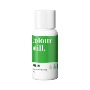 Green Oil-Based Coloring - 20mL By Colour Mill