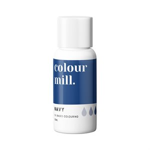 Navy Oil-Based Coloring - 20mL By Colour Mill