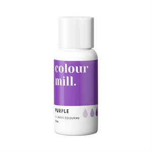 Purple Oil-Based Coloring - 20mL By Colour Mill