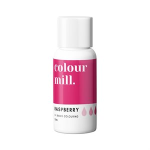 Raspberry Oil-Based Coloring - 20mL By Colour Mill