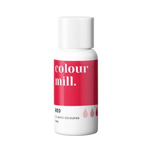 Red Oil-Based Coloring - 20mL By Colour Mill