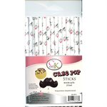 Mr & Mrs Cake Pop Sticks- 6 Inch -Pack of 25
