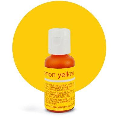 Lemon Yellow Liqua-Gel Color - .70 ounce By Chefmaster