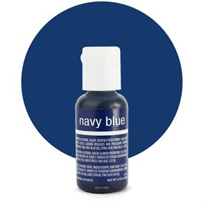 Navy Blue Liqua-Gel Color - .70 ounce By Chefmaster
