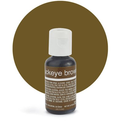 Buckeye Brown Liqua-Gel Color - .70 ounce By Chefmaster