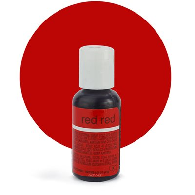 Red Red Liqua-Gel Color - .70 ounce By Chefmaster