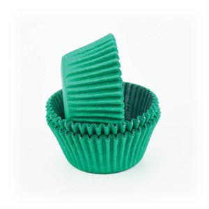 Green Glassine Standard Cupcake Baking Cup Liner- Pack of 50