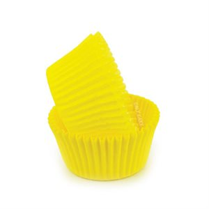 Yellow Glassine Standard Cupcake Baking Cup Liner