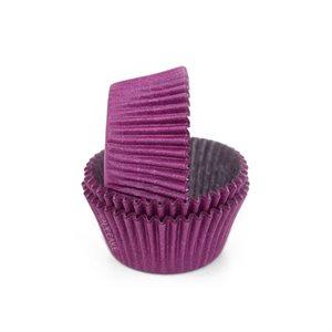 Purple Glassine Standard Cupcake Baking Cup Liner
