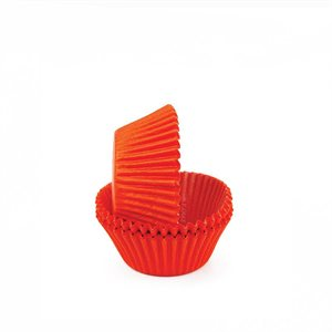 Orange Mini Cupcake Baking Cup Liner