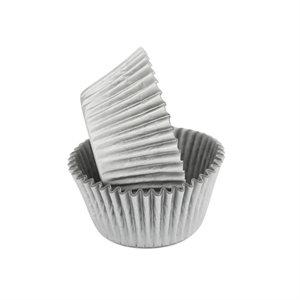 Silver Glassine Standard Cupcake Baking Cup Liner