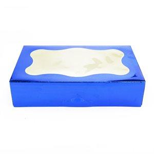 Blue Cookie Box 1 Pound