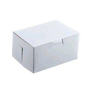 9 X 5 X 4  Inch White Cake Box