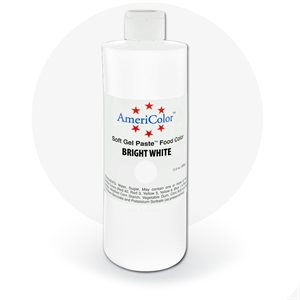 Bright White Gel Paste 20 Ounces By Americolor