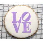 Love Sculpture Cookie Stencil Set By Designer Stencils