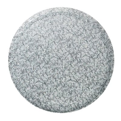 18 Inch Round Silver Cake Board 1 / 2 Inch Thick