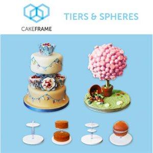 Cake Frame Tiers & Spheres