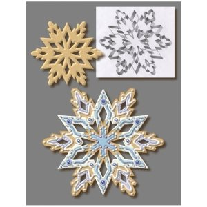 Snowflake Cookie Cutter 7 1 / 2 Inch